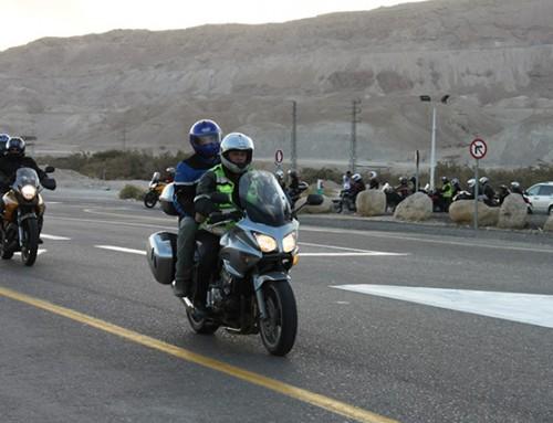 Chanukah Motorcycle Ride in Israel