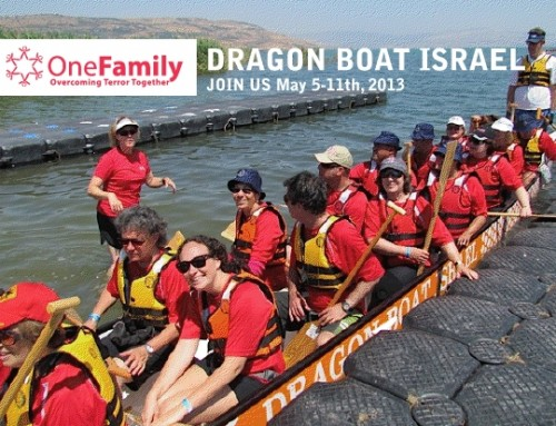 Be a Part of Our Family at the Israel Dragon Boat Festival 2013