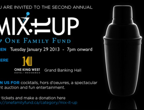 Mix it Up is back for 2013!