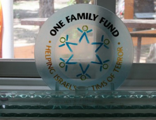 OneFamily Victims at The Warm House in Ra'anana Israel