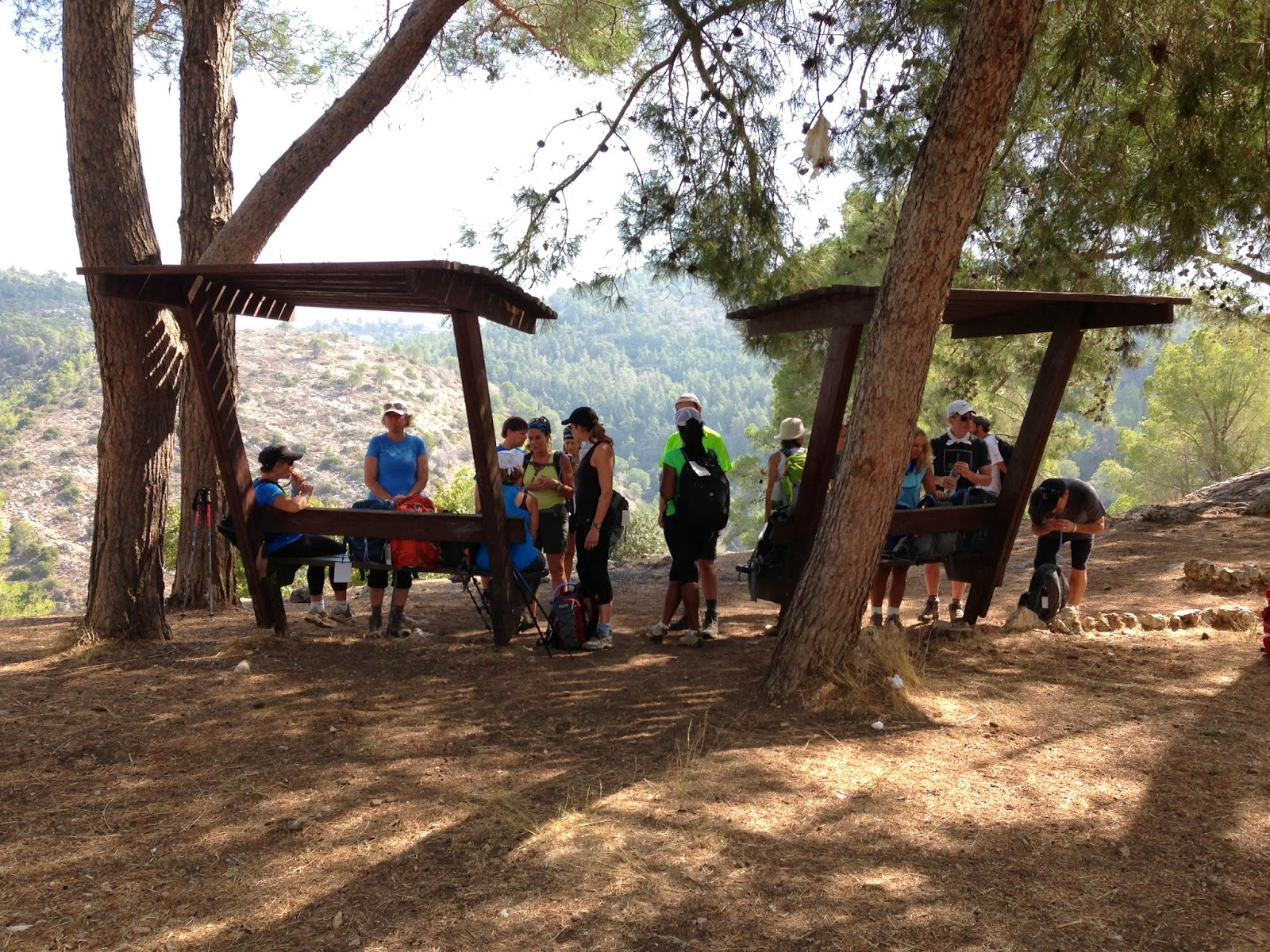 2013 Cross Israel Hike