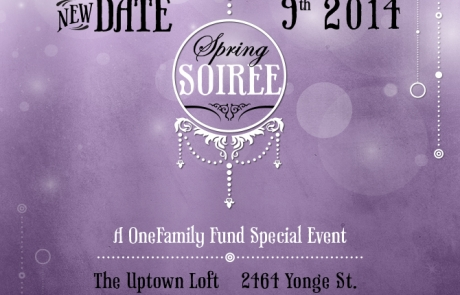 Save the Date to Our Spring Soiree!