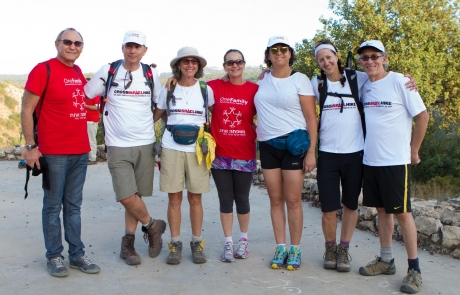 Ambassador joins Canadian hike to support Israeli terror victims