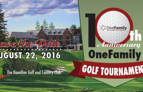 OneFamily Golf Tournament 2016